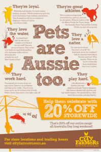 pets are aussie too