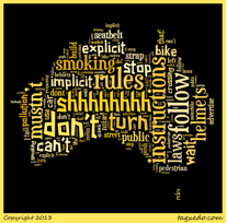 australias rules word cloud